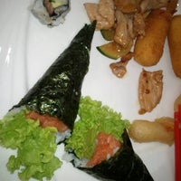 Photo taken at Wok Sushi by Dario C. on 7/21/2011
