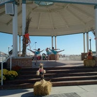 Photo taken at Rehoboth Beach Bandstand by Mike M. on 10/30/2011