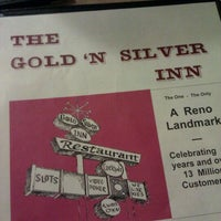Photo taken at Gold N' Silver Inn by Moe m. on 10/13/2011