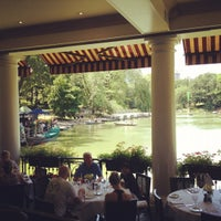 Photo taken at The Loeb Boathouse in Central Park by Chandra R. on 7/8/2012