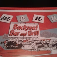 Photo taken at Backseat Bar & Grill by Devin B. on 9/8/2012
