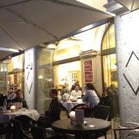 Photo taken at Stadt Café Città by Toni B. on 4/29/2012