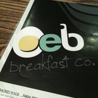 Photo taken at Over Easy Breakfast by Jeff B. on 7/20/2012