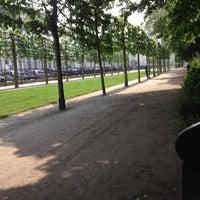 Photo taken at Warandepark / Parc de Bruxelles by Emily-brooks J. on 5/22/2012