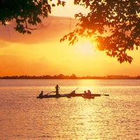 Photo taken at Viajes Myanmar by Mekong Rustic Lodge on 11/3/2011