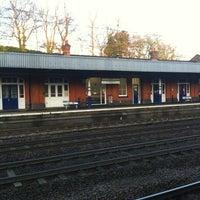 Photo taken at Hitchin Railway Station (HIT) by Kat M. on 4/10/2012