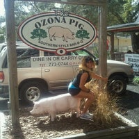 Photo taken at The Ozona Pig by SuzanneHenslee T. on 11/26/2011