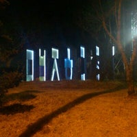 Photo taken at 갈미한글공원 by Sung-Yeon K. on 1/30/2012