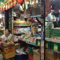 Photo taken at Ying Charoen Market by Yuii P. on 7/22/2012