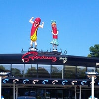 Photo taken at Superdawg Drive-In by Elizabeth on 7/11/2012