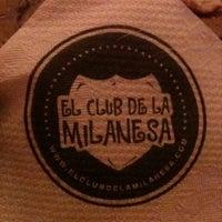 Photo taken at El Club de la Milanesa by Mike D. on 8/18/2011