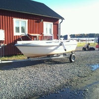 Photo taken at Stenö Båt Klubb by Keith R. on 10/15/2011