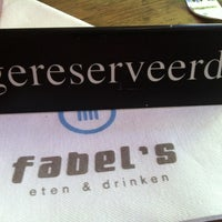 Photo taken at Fabel's by Jeroen L. on 7/4/2012