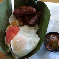 Photo taken at WOW Silog Truck by Serena T. on 2/16/2011