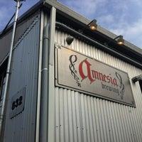 Photo taken at Amnesia Brewing by Matt D. on 4/16/2012