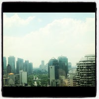 Photo taken at Permata Bank Tower Sudirman by Raden Wishnu W. on 11/12/2011