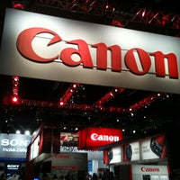 Photo taken at Canon CES Booth #13304 by Canon on 1/9/2012