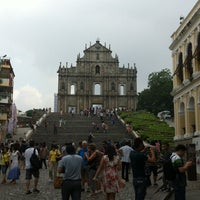 Photo taken at Ruins of St. Paul's by stone 0. on 9/8/2012