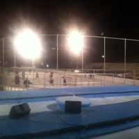 Photo taken at Lasker Pool & Ice Rink by Daniel G. on 11/10/2011