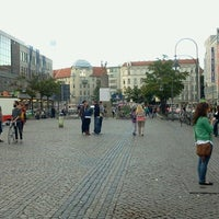 Photo taken at Hermannplatz by Anyelina M. on 8/9/2012