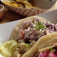 Photo taken at Oaxaca Taqueria by Jill L. on 7/21/2012