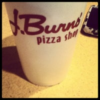 Photo taken at J Burns Pizza Shop by Brittany W. on 5/4/2012