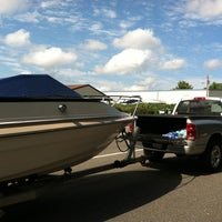 Photo taken at Anna Point Marina by Emily A. on 7/22/2012