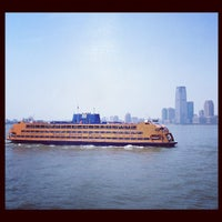Photo taken at Staten Island Ferry Boat - Guy V. Molinari by Diggs on 5/28/2012