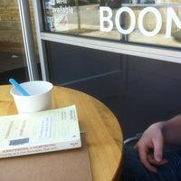 Photo taken at Boom Yogurt Bar by Robert R. on 4/8/2012