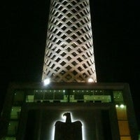 Photo taken at Cairo Tower by Muhammad A. on 8/31/2012