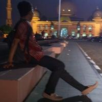 Photo taken at Masjid Agung An-Nur by Hasbi R. on 6/29/2012
