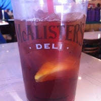 Photo taken at McAlister's Deli by Becky C. on 5/22/2012
