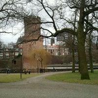 Photo taken at Kronenburgerpark by Eugene A. on 2/26/2012