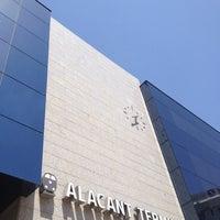 Photo taken at Estació d'Alacant Terminal by Begoña M. on 7/20/2012