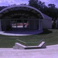 Photo taken at Warren Community Amphitheatre by Joshua N. on 6/22/2012