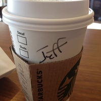 Photo taken at Starbucks by jeffery k. on 6/8/2012