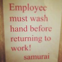 Photo taken at Samurai Sushi and Hibachi by Alan F. on 12/3/2011