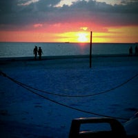 Photo taken at Fort Myers Beach by Mickayla B. on 11/25/2011