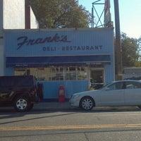 Photo taken at Franks Deli & Restaurant by Mark O. on 10/15/2011