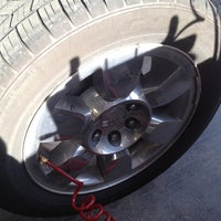 Photo taken at Discount Tire® Store by Mikey R. on 6/2/2012