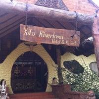 Photo taken at Yoko Resort River Kwai by B@nKie T. on 2/18/2012
