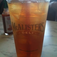 Photo taken at McAlister's Deli by Jeff S. on 8/14/2011