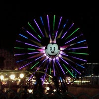 Photo taken at Mickey's Fun Wheel by Maria Y. on 12/5/2011