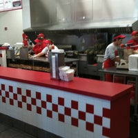 Photo taken at Five Guys by Amber S. on 2/20/2011