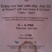 Photo taken at Royal T Cafe by Jenny on 7/22/2012