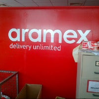 Photo taken at aramex by The U. on 2/1/2012