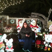 Photo taken at Windcrest Rd Xmas Lights by Laura Maria A. on 12/24/2011