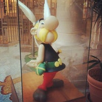 Photo taken at Belgian Comic Strip Center by James W. on 1/27/2012