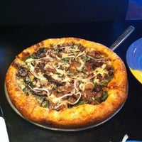 Photo taken at Mellow Mushroom by Britt on 10/13/2011