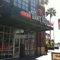 Photo taken at Giants Dugout Store by TJ C. on 5/1/2011
